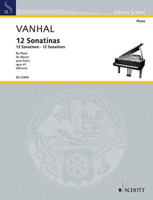 12 sonatines faciles et progressives Opus 41 laflutedepan
