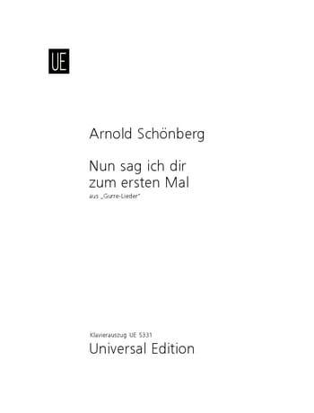 Nun Sag Ich Dir Zum Ersten Mal (Lied Toves) - laflutedepan.com