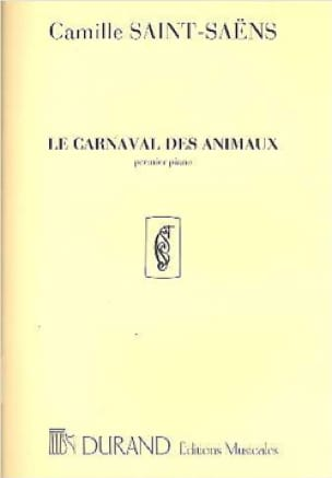 Carnaval des Animaux 1er Piano Solo Orchestre. - laflutedepan.com