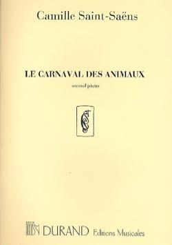 Camille Saint-Saëns - Carnival of Animals 2nd Piano Solo Orchestra. - Partition - di-arezzo.es