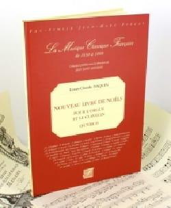 Nouveau Livre de Noëls Louis-Claude Daquin Partition laflutedepan