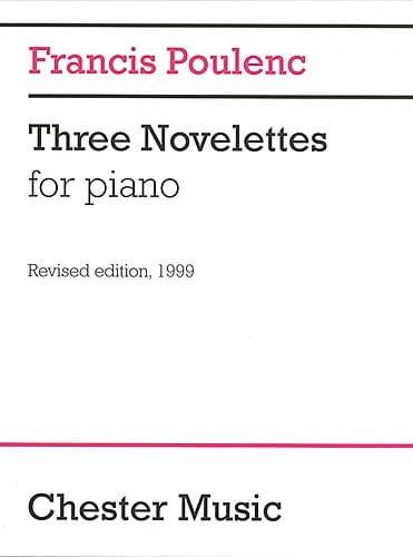 3 Novelettes - POULENC - Partition - Piano - laflutedepan.com