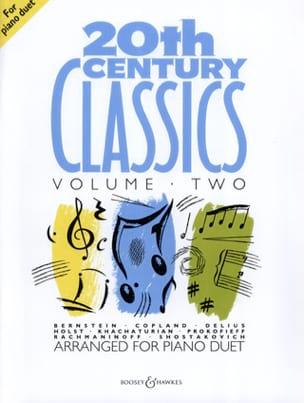 20th Century Classics. Volume 2. 4 mains Partition laflutedepan