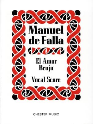 El Amor Brujo DE FALLA Partition Opéras - laflutedepan