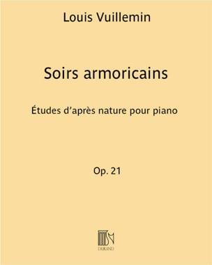 Soirs Armoricains Opus 21. Louis Vuillemin Partition laflutedepan