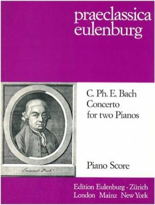 Concerto Pour 2 Pianos Carl-Philipp Emanuel Bach laflutedepan