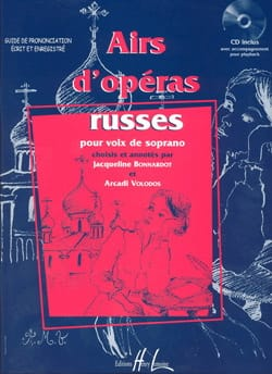 Airs D'opéras Russes, Soprano laflutedepan