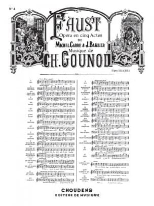 Oui, C'est Toi, je T'aime. Faust - GOUNOD - laflutedepan.com