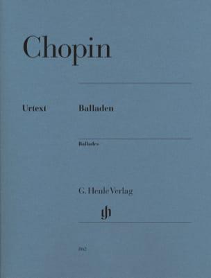 Ballades CHOPIN Partition Piano - laflutedepan
