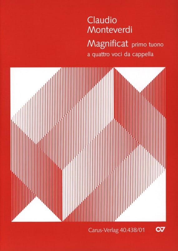 Magnificat Primo Tuono A 4 Voci - MONTEVERDI - laflutedepan.com