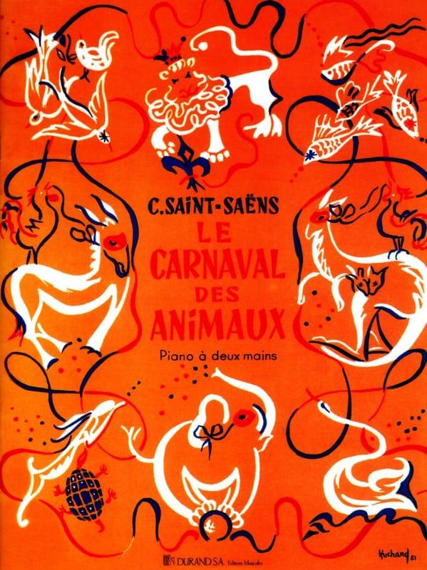 Le Carnaval des Animaux. Piano - SAINT-SAËNS - laflutedepan.com
