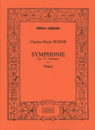 Symphonie Romane Opus 73. WIDOR Partition Orgue - laflutedepan