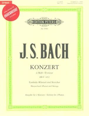 Concerto Pour Clavier En Ré Mineur BWV 1052 BACH laflutedepan