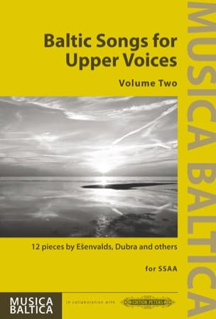 Baltic Songs for Upper Voices. Volume 2 Partition laflutedepan