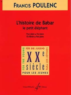 Francis Poulenc - The Little Elephant Extract di The Story of Babar - Partition - di-arezzo.it