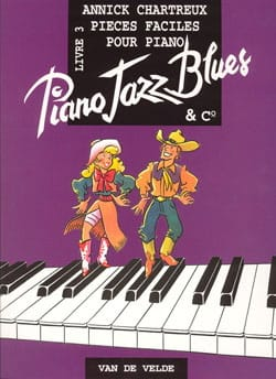 Piano, Jazz, Blues And Co Volume 3 Annick Chartreux laflutedepan