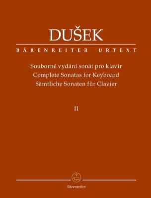 Sonates pour piano. Volume 2 Frantisek Xaver Dussek laflutedepan