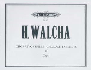 Choralvorspiele volume 2 Helmut Walcha Partition Orgue - laflutedepan