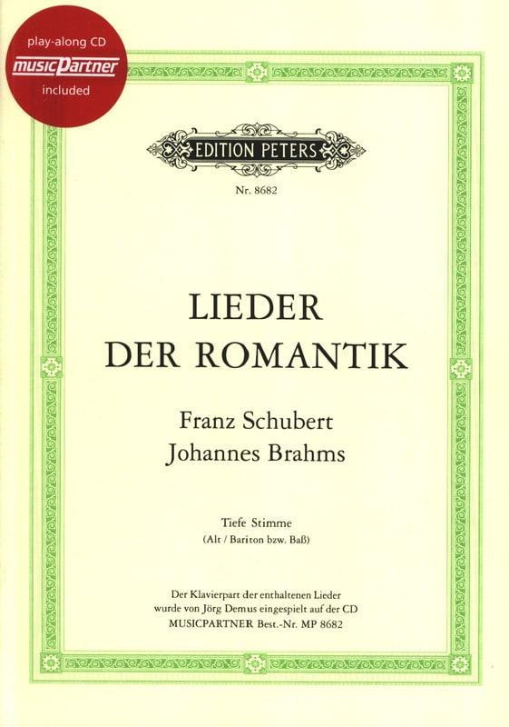 Lieder Der Romantik. Voix Grave - SCHUBERT / BRAHMS - laflutedepan.com
