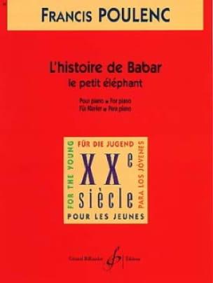 Le Petit Eléphant Extrait de L'histoire de Babar - laflutedepan.com