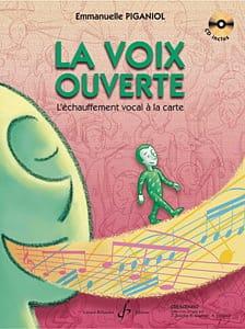 La Voix Ouverte Emmanuelle Piganiol Partition Pédagogie - laflutedepan