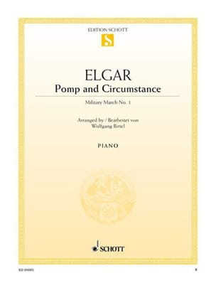 Pomp And Circumstance ELGAR Partition Piano - laflutedepan