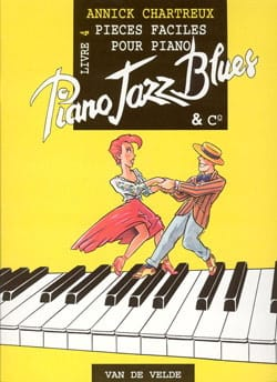 Piano, Jazz, Blues And Co Volume 4 Annick Chartreux laflutedepan