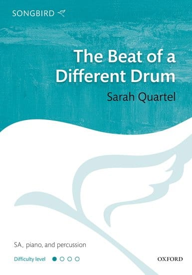 The Beat of a Different Drum - Sarah Quartel - laflutedepan.com