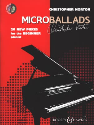 Microballads Christopher Norton Partition Piano - laflutedepan