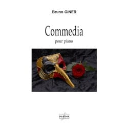 Commedia Bruno Giner Partition Piano - laflutedepan