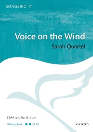 Voice on the wind Sarah Quartel Partition Chœur - laflutedepan