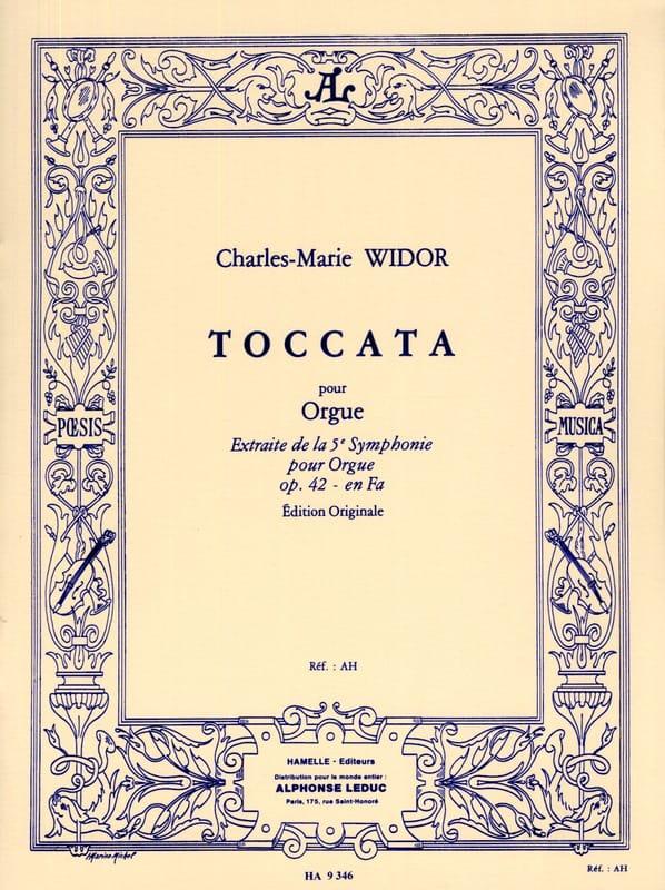 Toccata - WIDOR - Partition - Orgue - laflutedepan.be