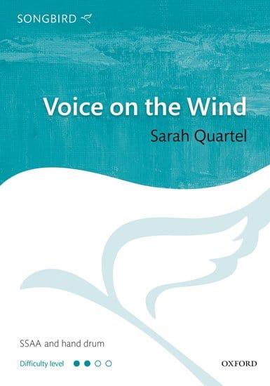 Voice on the wind - Sarah Quartel - Partition - laflutedepan.com