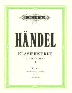 Suites Volume 1 HAENDEL Partition Piano - laflutedepan