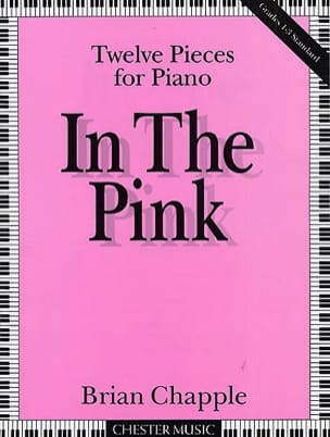 In The Pink - Chapple - Partition - Piano - laflutedepan.com