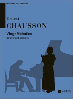 20 Mélodies CHAUSSON Partition Mélodies - laflutedepan
