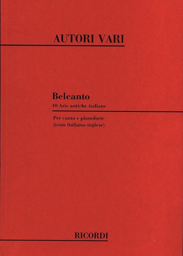 Bel Canto - Partition - Mélodies - laflutedepan.com