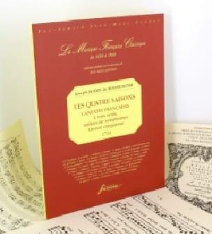 Les 4 Saisons Opus 5 - BOISMORTIER - Partition - laflutedepan.com