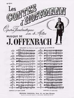 Barcarolle. Contes D'Hoffmann. N° 13 Bis OFFENBACH laflutedepan