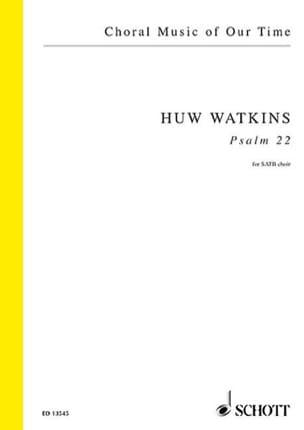 Psaume 22 Huw Watkins Partition Chœur - laflutedepan