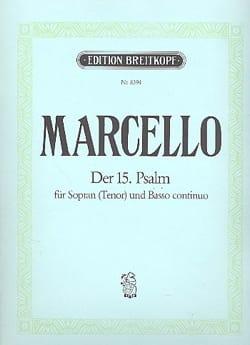 Psaume 15. Benedetto Marcello Partition Mélodies - laflutedepan