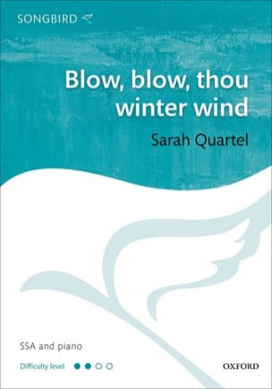 Blow, blow, thou winter wind Sarah Quartel Partition laflutedepan