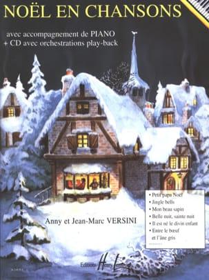 Noël en Chansons Anny et Jean-Marc Versini Partition laflutedepan