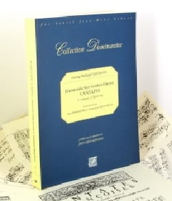 Cantates Volume 1 TELEMANN Partition Mélodies - laflutedepan