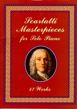 Masterpieces For Solo Piano SCARLATTI Partition laflutedepan