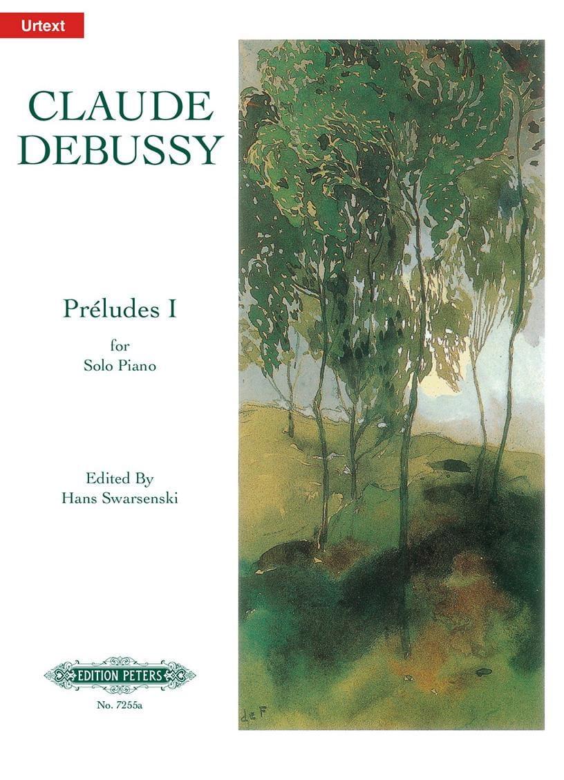 Préludes. 1er Livre - DEBUSSY - Partition - Piano - laflutedepan.com