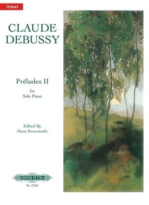 Préludes. 2ème Livre DEBUSSY Partition Piano - laflutedepan