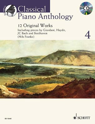 Classical Piano Anthology. Volume 4 Partition Piano - laflutedepan