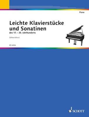 Leichte Klavierstücke und Sonatinen - Partition - laflutedepan.com