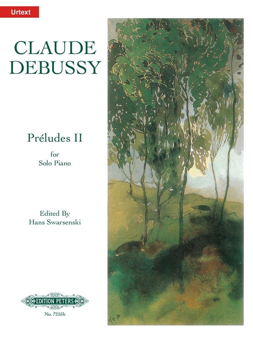 Préludes. 2ème Livre - DEBUSSY - Partition - Piano - laflutedepan.com